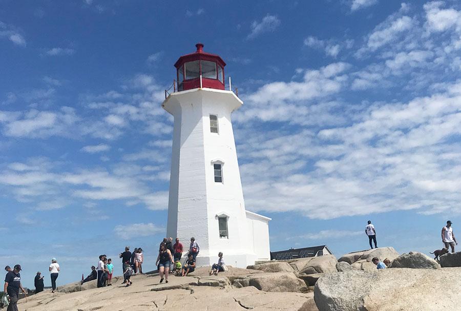 nova scotia peggys cove lighthouse